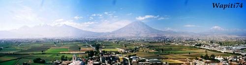 Les volcans de Arequipa