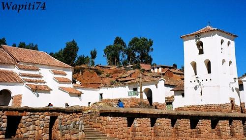 Chinchero au Pérou