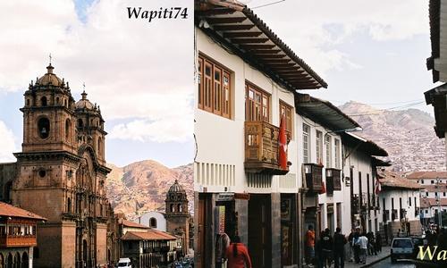 Perou ville de Cuzco