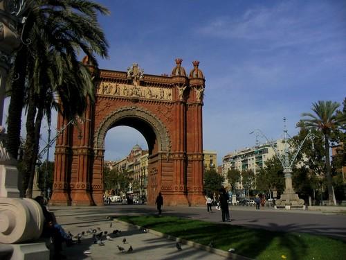 Arche de Triomphe de Barcelone