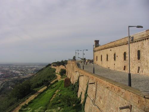 Chateau Montjuic à Barcelone