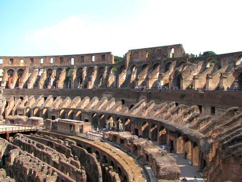 Interieur du Colisée