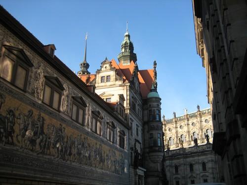 fresque de Dresden