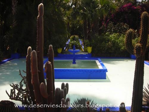 Jardin Marjoriel à Marrakech
