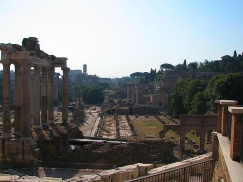 Ruines à Rome Forum