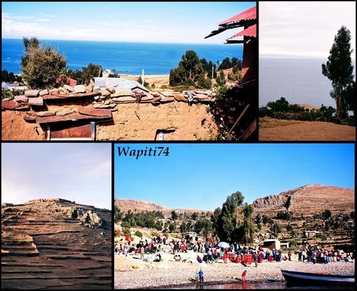 Amantani a Titicaca Bolivie et Perou