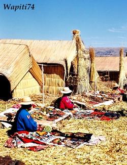Los Uros à Titicaca