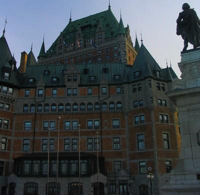 Chateau frontenac Québec