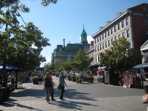 Montreal vieux et vieille ville