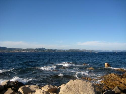 Plage et mer à Saint Tropez