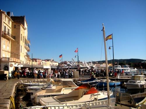 Le port de...Sant Tropez