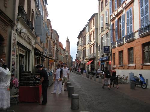 Rue à Toulouse