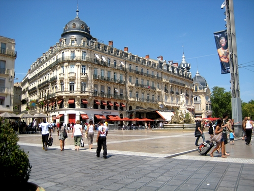 Montpellier en photos tourisme voyage - Piscine place de l europe montpellier ...