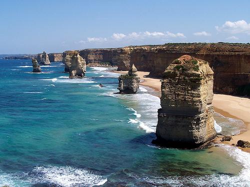 Plages australiennes en Australie