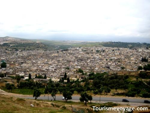 Ville de Fès (Fez) au Maroc