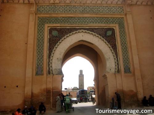Meknes au Maroc
