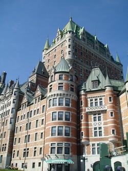 Chateau Frontenac à Québec