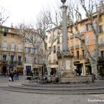 Aix en Provence Place de la mairie