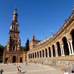 La place d'espagne et ses célèbre azulejos