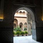 Porte palais alcazar