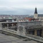 Vue sur la ville basse de Bruxelles, en Belgique