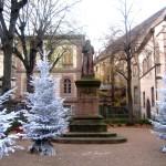 Statue Pfeffel à Colmar