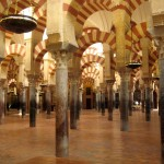 La grande mosquée de Cordoue en Espagne
