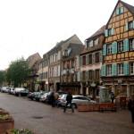 Rue de Colmar en Alsace