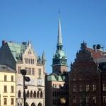 Cathedrale de Stockholm en Suède