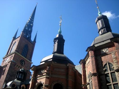 Les Eglises de Stockholm en Suède
