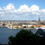 Panorama de la ville de Stockholm