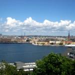 Une Vue sur la ville de Stockholm