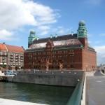 La Gare de train de Malmo en Suede