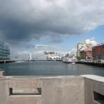 Port de Malmo en Suede