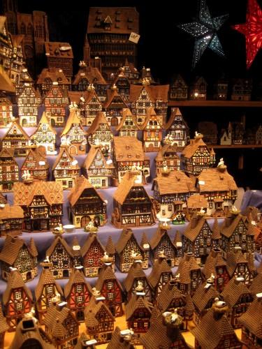 Petites maisons de Noel