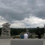 Oslo sous les nuages