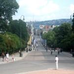 La Grande Allée d'Oslo