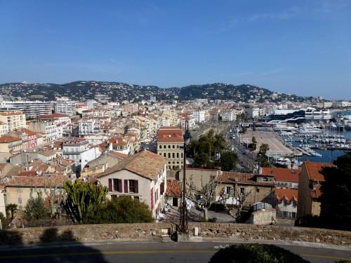 Vue sur la ville de Cannes