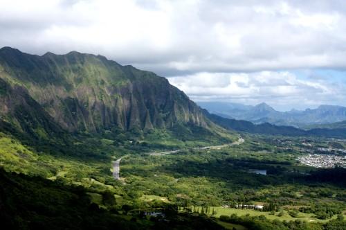 Le Nuuanu Pali Lookout