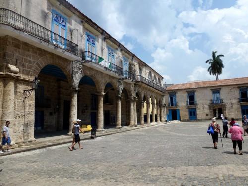 La place principale, La Havane