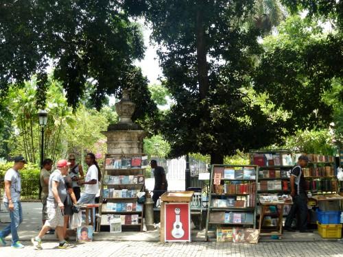 Le marché aux livres de La Havane