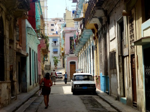 Rue de La Havane