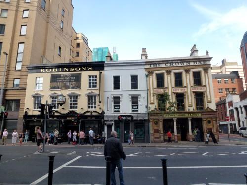 Bars connus de Belfast