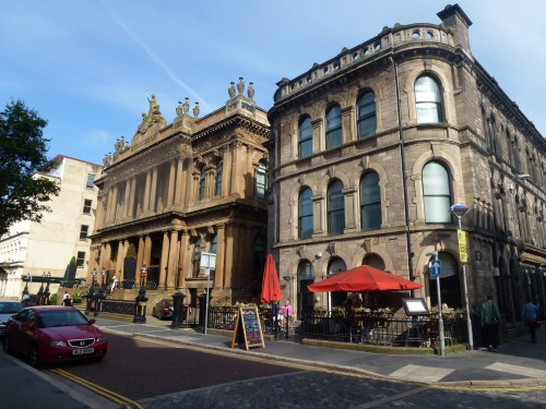 architecture typique de Belfast
