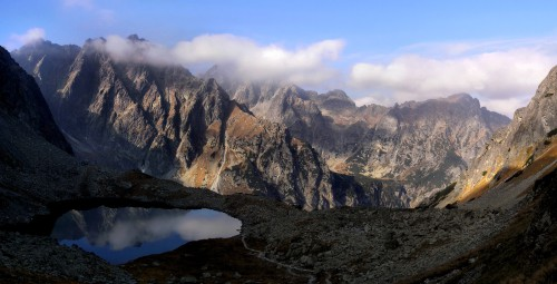 Les Hautes Tatras en Slovaquie