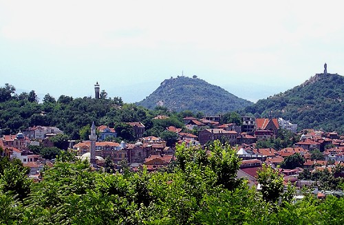 Collines de Plovdiv