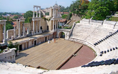 théâtre romain plovdiv